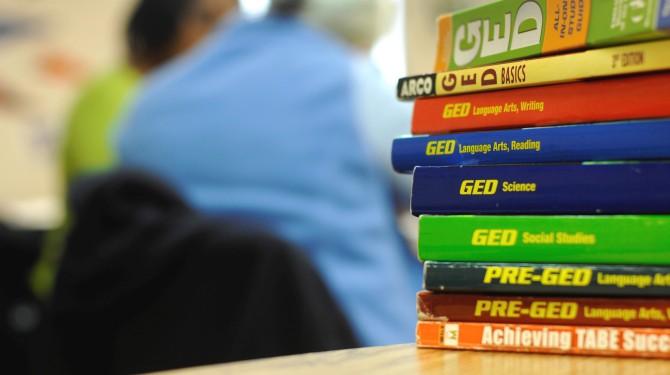 GED books
