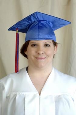 Seeds of Literacy grad Megan Gregg