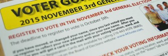 A voter guide at Seeds of Literacy
