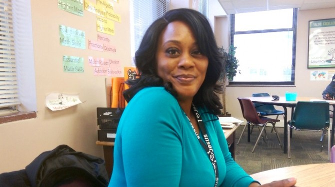 Seeds of Literacy student Cheila Dozier
