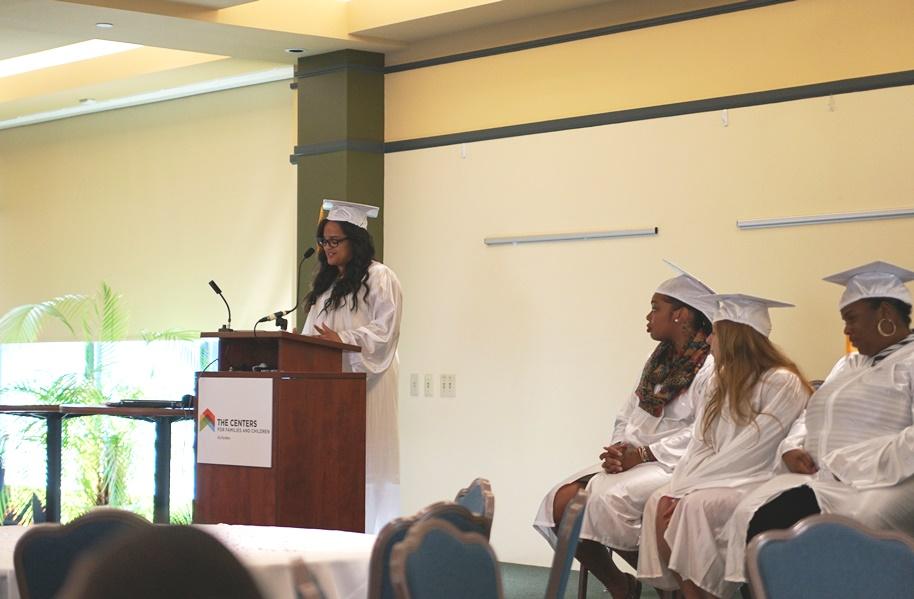 Seeds of Literact GED Graduation Graduate Speaker