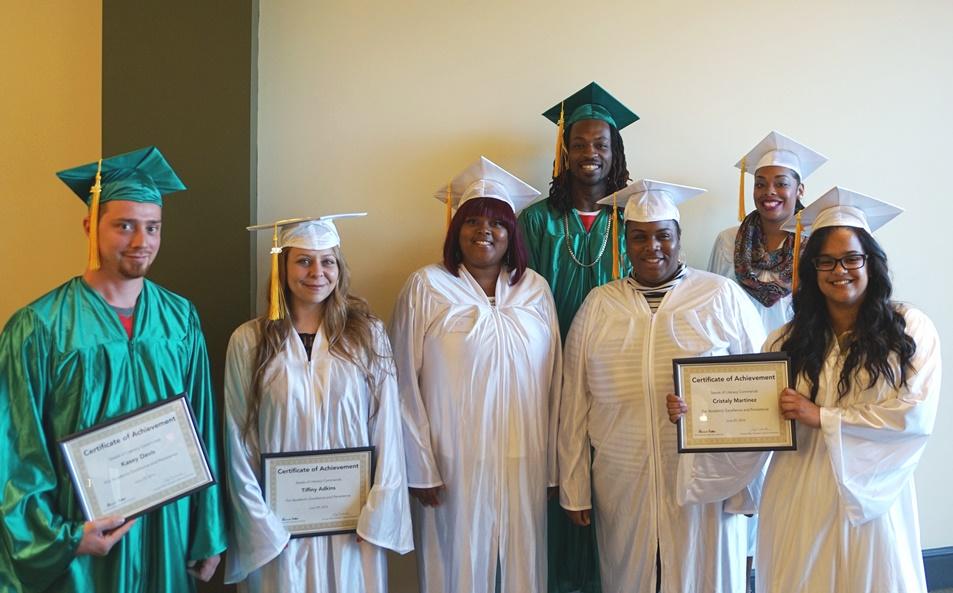 Seeds of Literact GED Graduation Graduates 2