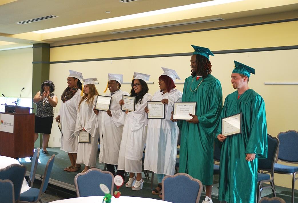 Seeds of Literact GED Graduation Graduates