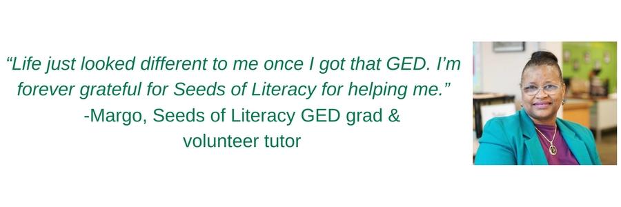 Jonathan Khouri GED tutor at Seeds of Literacy
